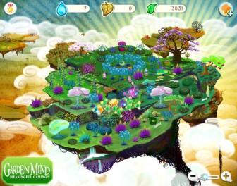 Screenshot of GardenMind game